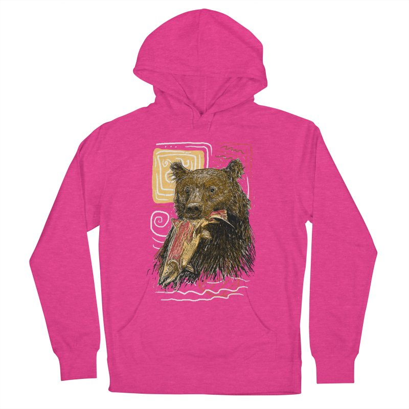 eat bear Women's Pullover Hoody by gupikus's Artist Shop