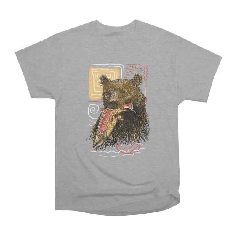 eat bear Women's Classic Unisex T-Shirt by gupikus's Artist Shop