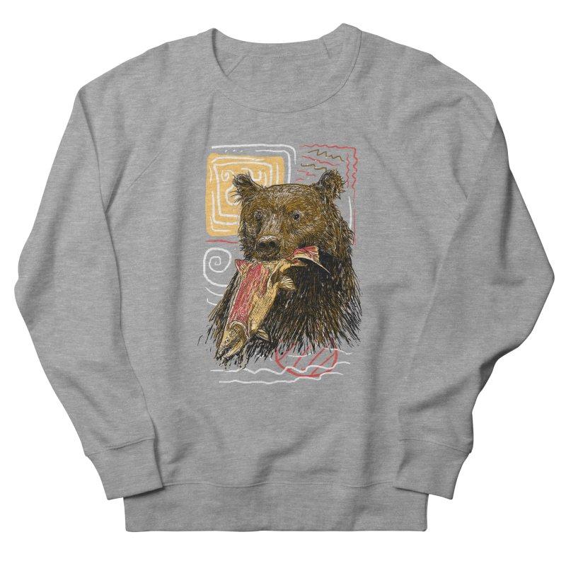 eat bear Women's Sweatshirt by gupikus's Artist Shop