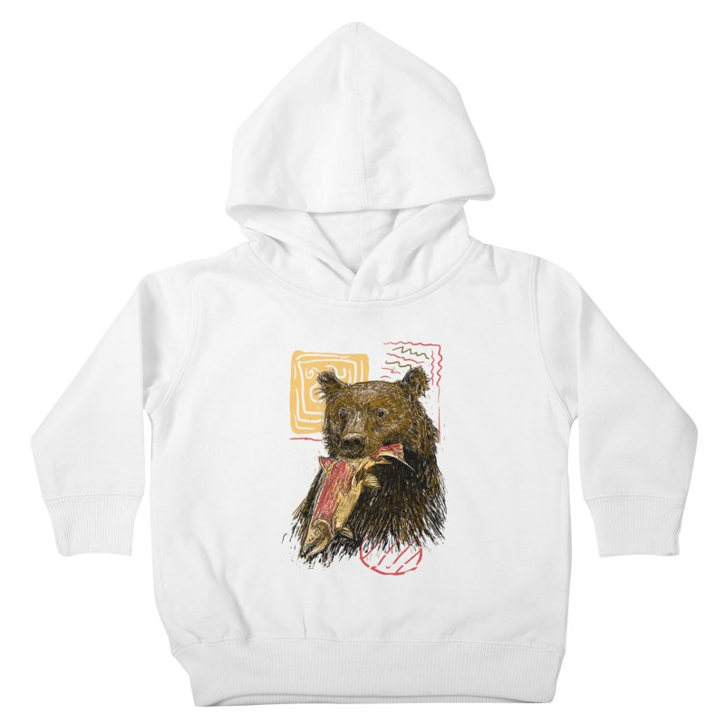 eat bear Kids Toddler Pullover Hoody by gupikus's Artist Shop