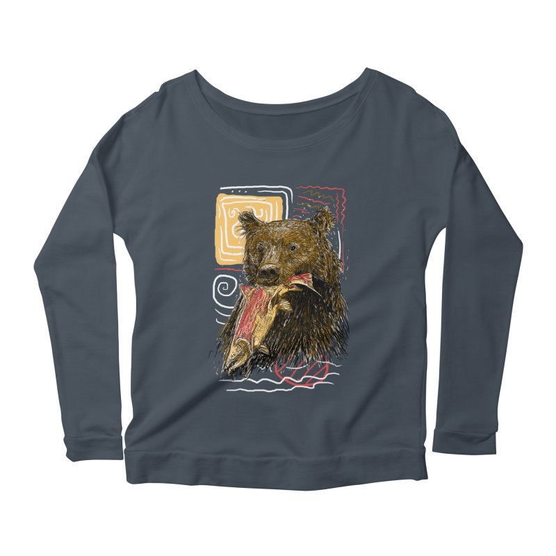 eat bear Women's  by gupikus's Artist Shop