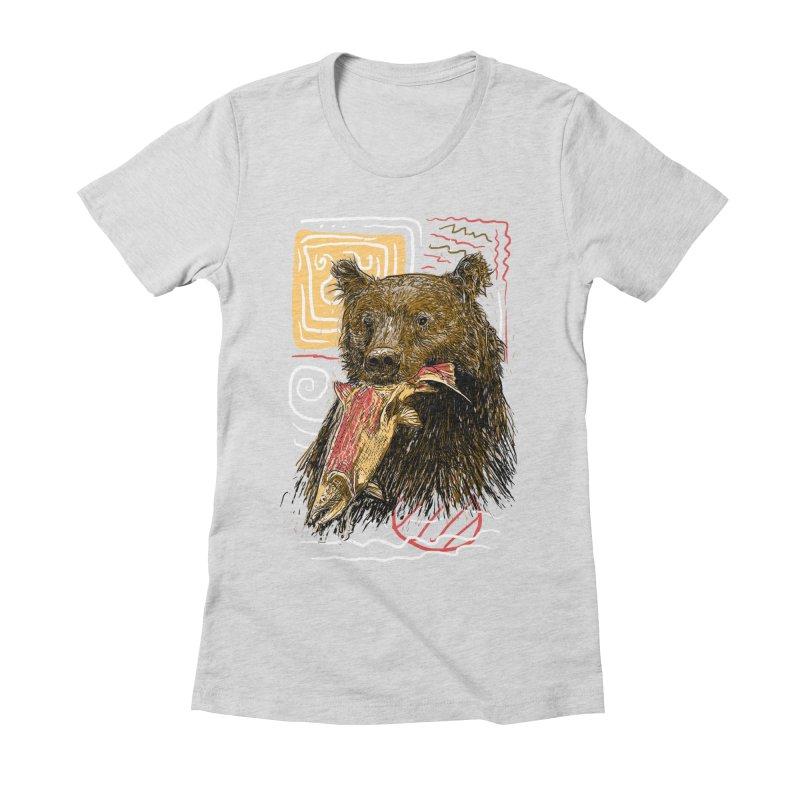 eat bear Women's  by gupikus's Artist Shop