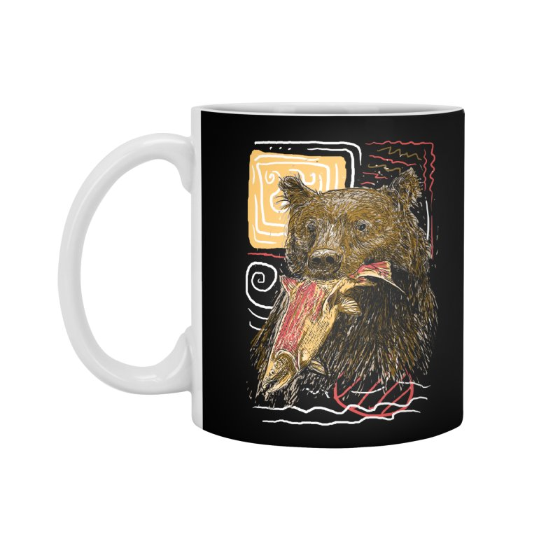 eat bear Accessories Standard Mug by gupikus's Artist Shop