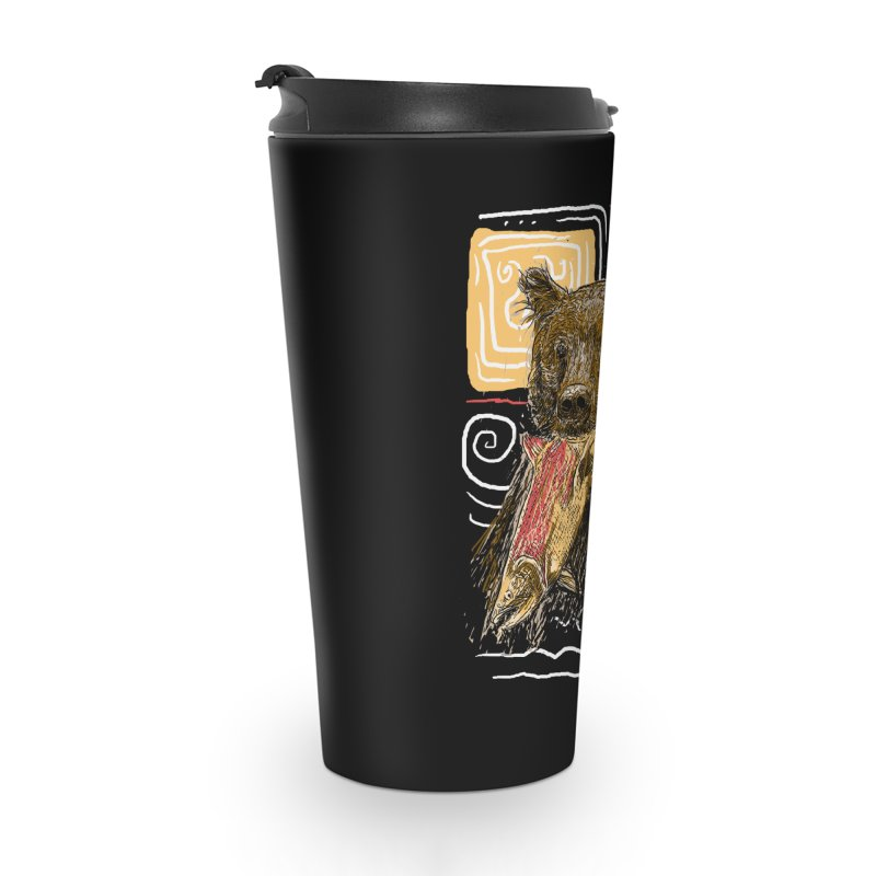 eat bear Accessories Travel Mug by gupikus's Artist Shop