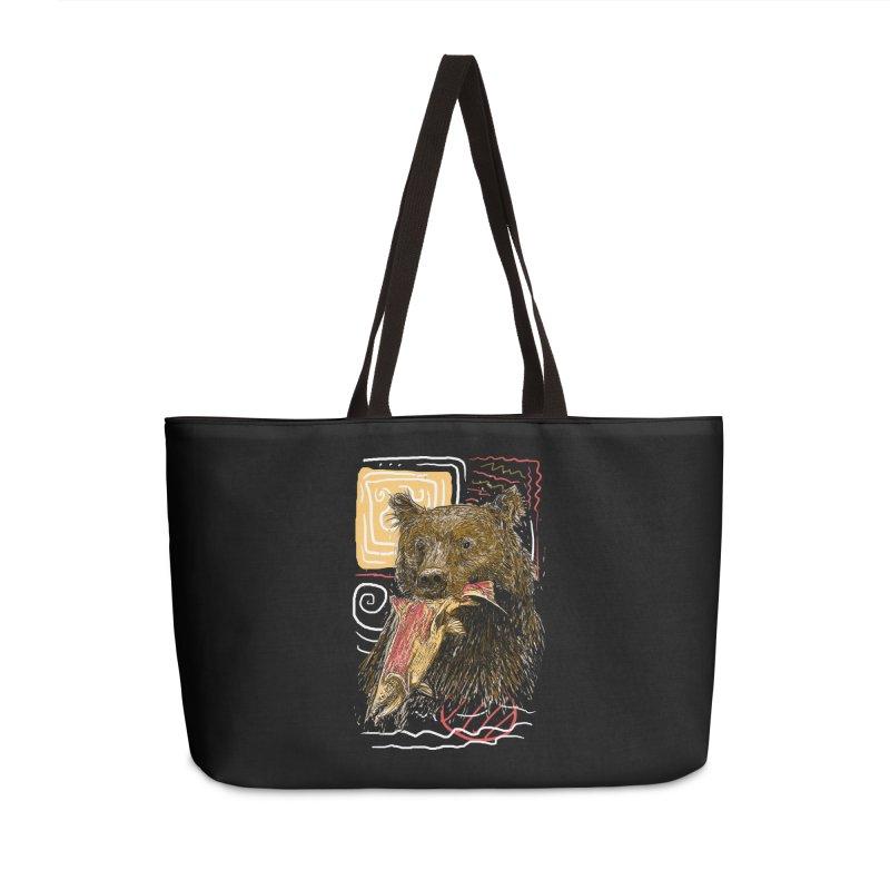 eat bear Accessories Weekender Bag Bag by gupikus's Artist Shop