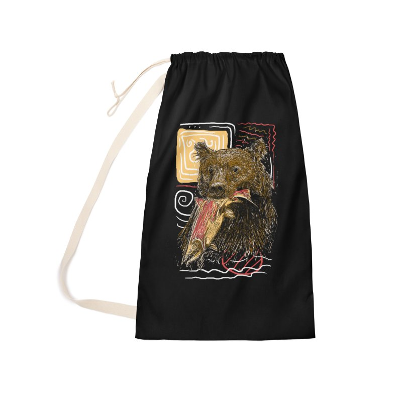 eat bear Accessories Bag by gupikus's Artist Shop