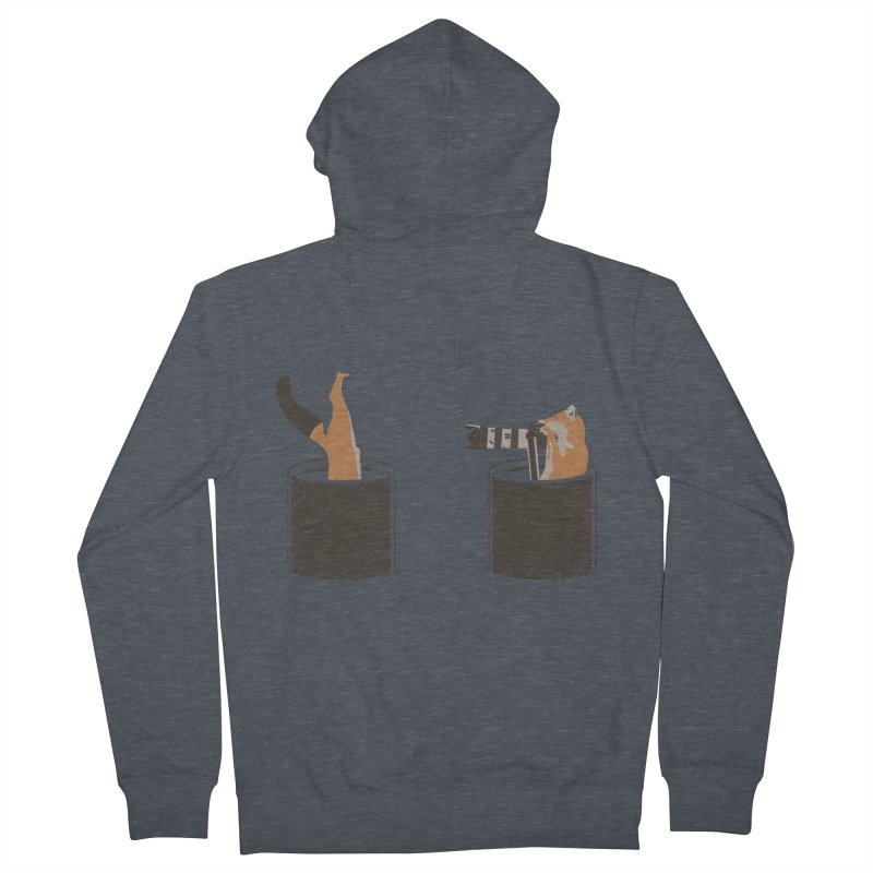 foxtographer Men's French Terry Zip-Up Hoody by gupikus's Artist Shop