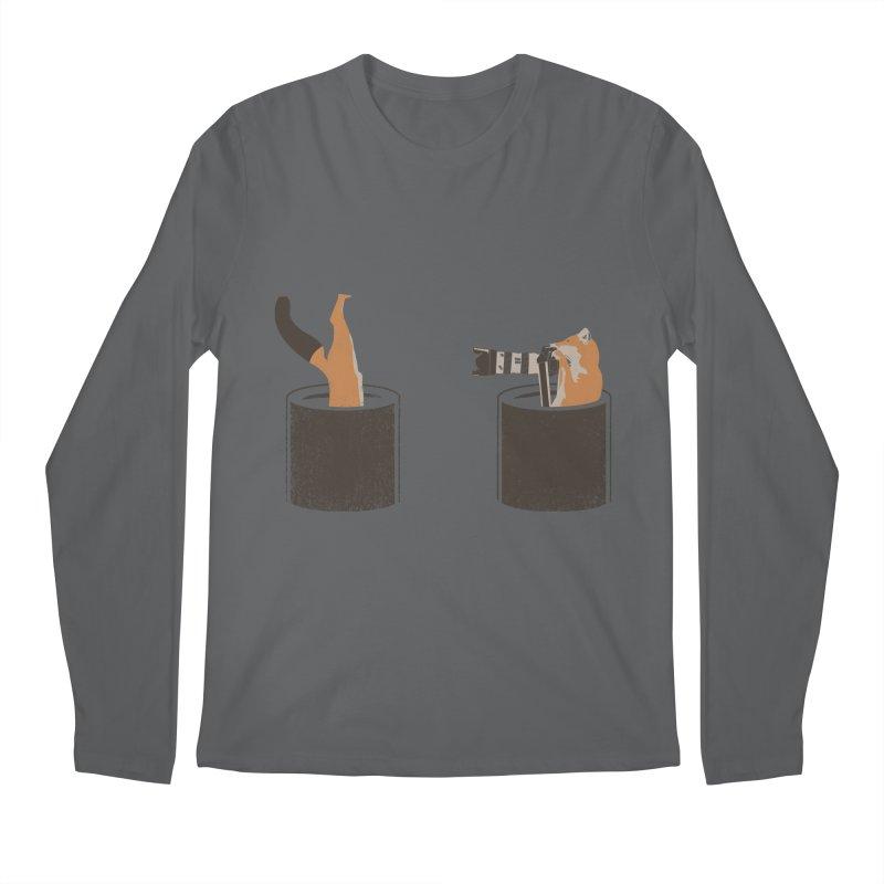 foxtographer Men's Longsleeve T-Shirt by gupikus's Artist Shop