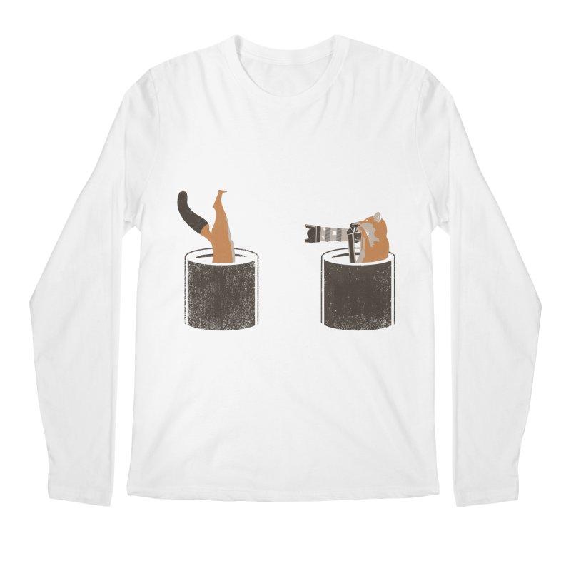 foxtographer Men's Regular Longsleeve T-Shirt by gupikus's Artist Shop