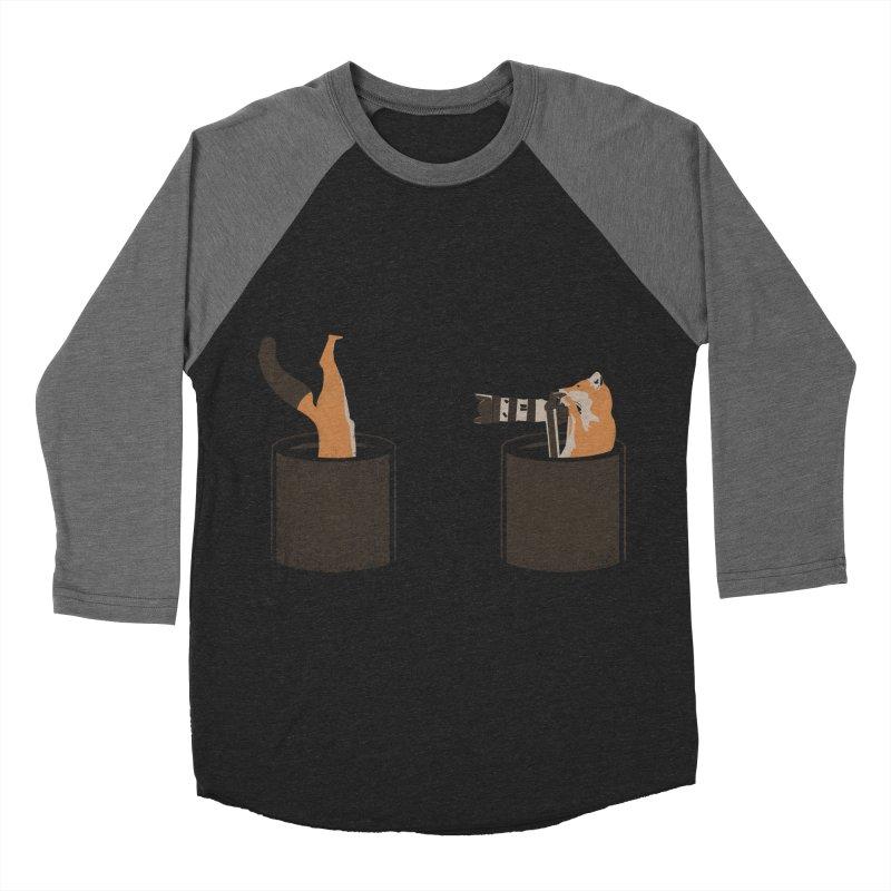 foxtographer Men's Baseball Triblend Longsleeve T-Shirt by gupikus's Artist Shop