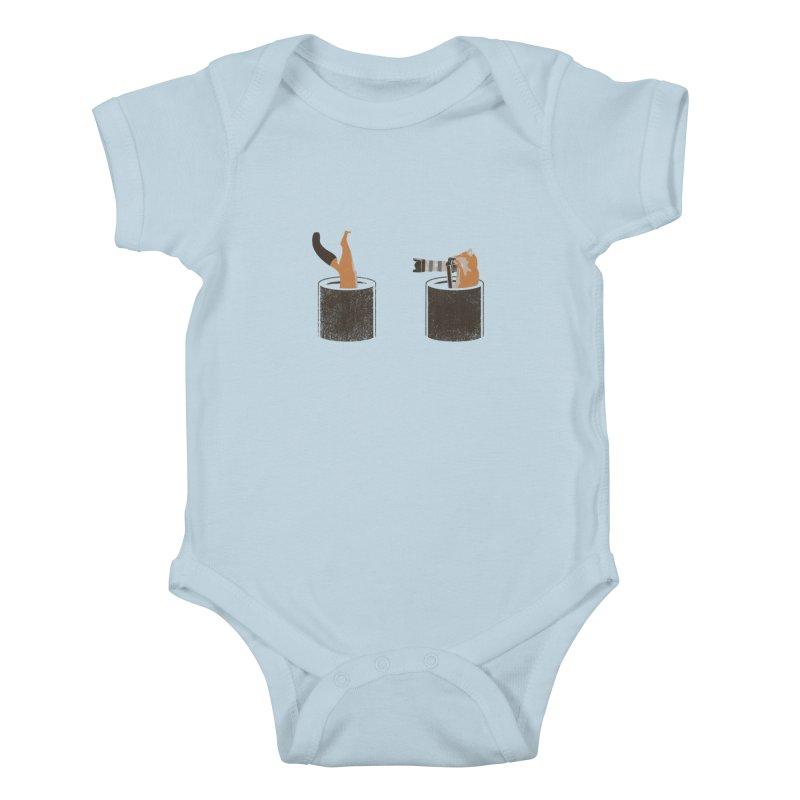 foxtographer Kids Baby Bodysuit by gupikus's Artist Shop