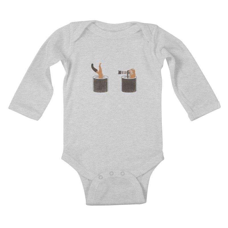 foxtographer Kids Baby Longsleeve Bodysuit by gupikus's Artist Shop