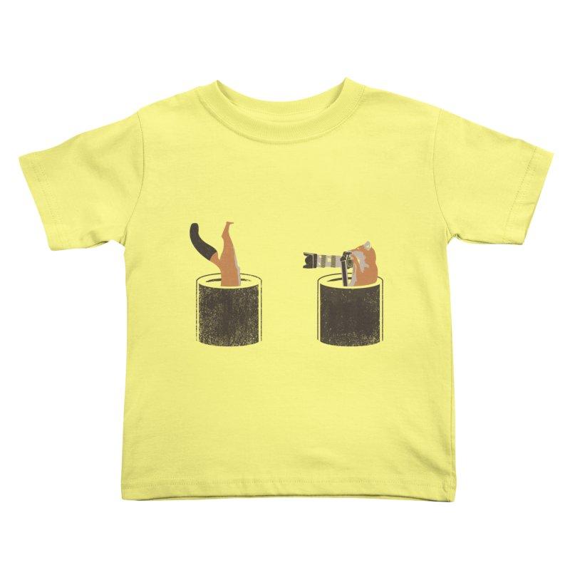 foxtographer Kids Toddler T-Shirt by gupikus's Artist Shop