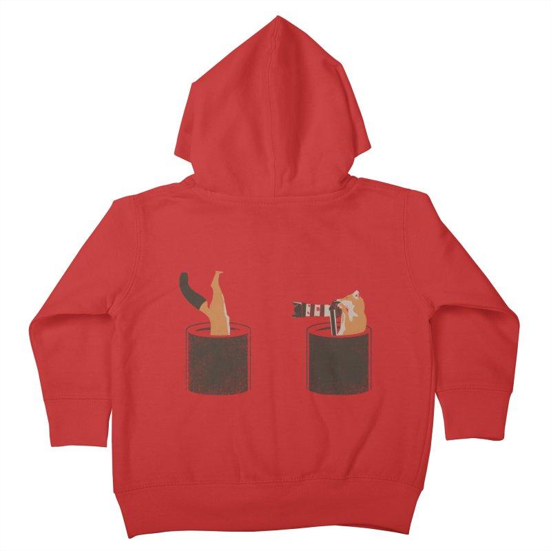 foxtographer Kids Toddler Zip-Up Hoody by gupikus's Artist Shop