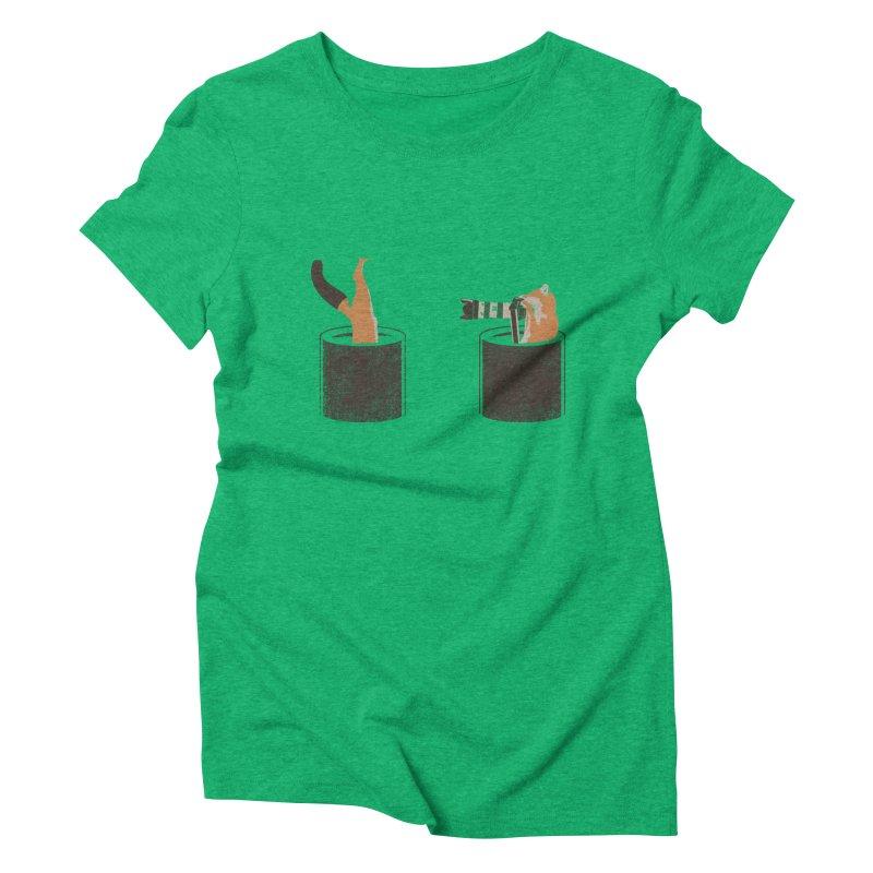 foxtographer Women's Triblend T-Shirt by gupikus's Artist Shop