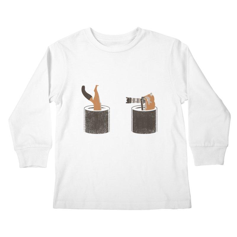 foxtographer Kids Longsleeve T-Shirt by gupikus's Artist Shop