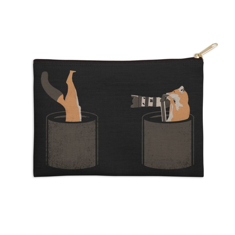 foxtographer Accessories Zip Pouch by gupikus's Artist Shop