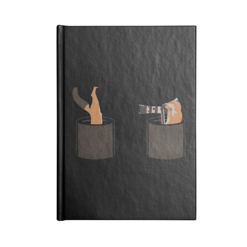 foxtographer Accessories Lined Journal Notebook by gupikus's Artist Shop