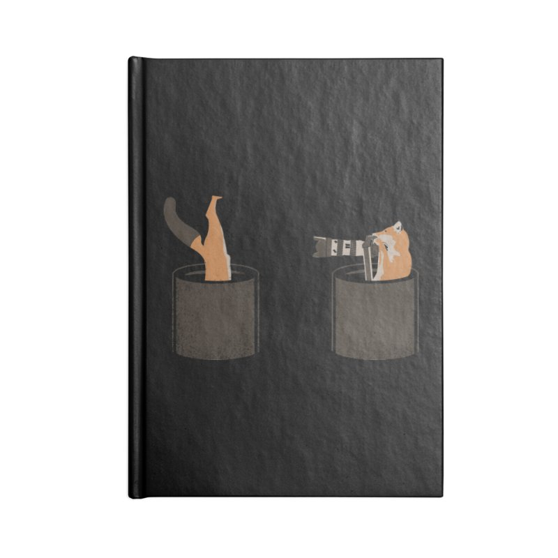 foxtographer Accessories Blank Journal Notebook by gupikus's Artist Shop