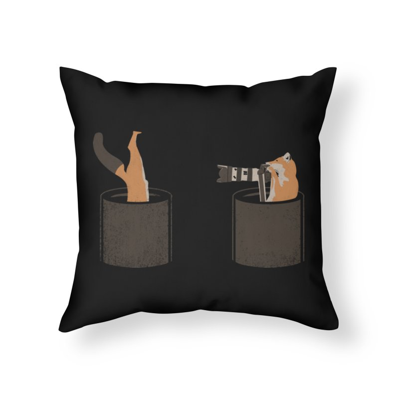 foxtographer Home Throw Pillow by gupikus's Artist Shop