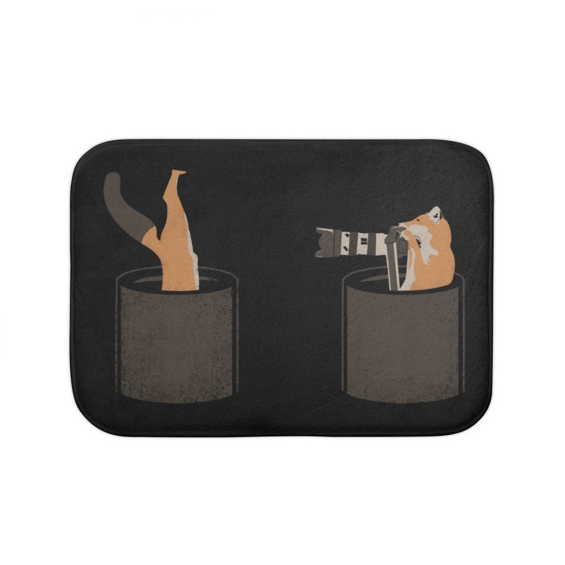 foxtographer Home Bath Mat by gupikus's Artist Shop
