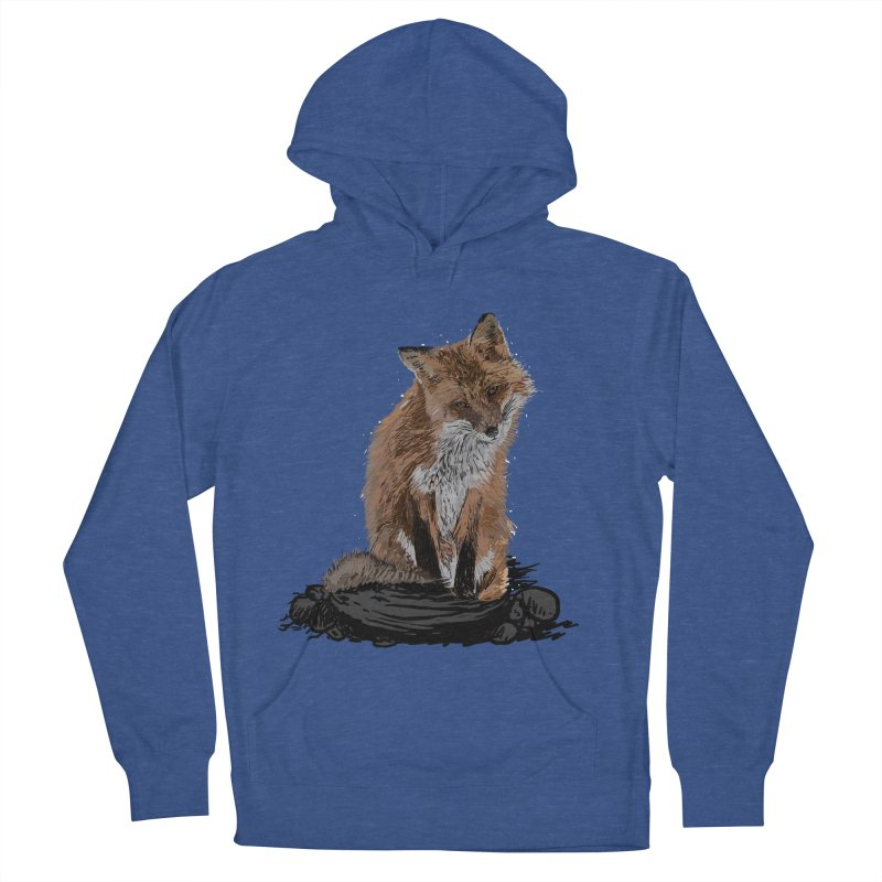 wolves Women's French Terry Pullover Hoody by gupikus's Artist Shop