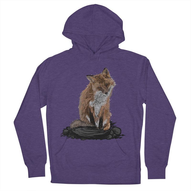 wolves Men's French Terry Pullover Hoody by gupikus's Artist Shop