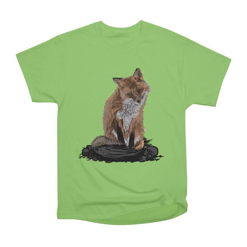 wolves Men's Heavyweight T-Shirt by gupikus's Artist Shop