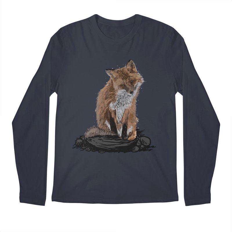 wolves Men's Regular Longsleeve T-Shirt by gupikus's Artist Shop