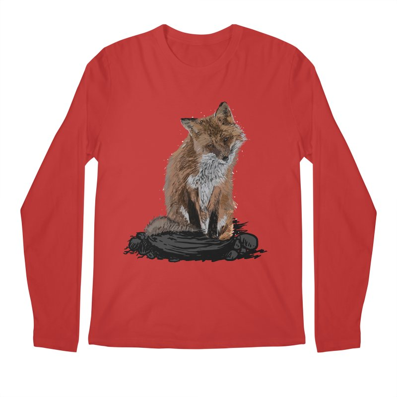 wolves Men's Regular Longsleeve T-Shirt by gupikus's Artist Shop