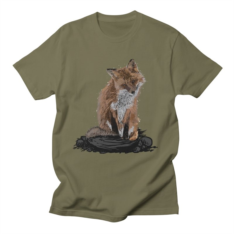 wolves Men's Regular T-Shirt by gupikus's Artist Shop