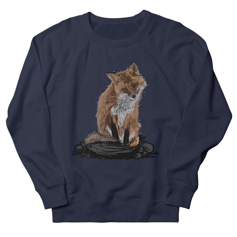wolves Women's French Terry Sweatshirt by gupikus's Artist Shop