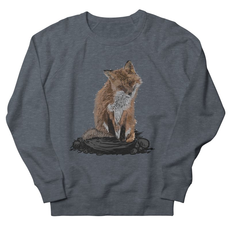 wolves Men's French Terry Sweatshirt by gupikus's Artist Shop