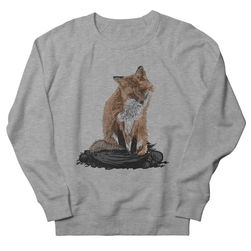 wolves Men's French Terry Sweatshirt by gupikus's Artist Shop