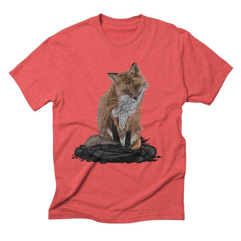 wolves Men's Triblend T-Shirt by gupikus's Artist Shop