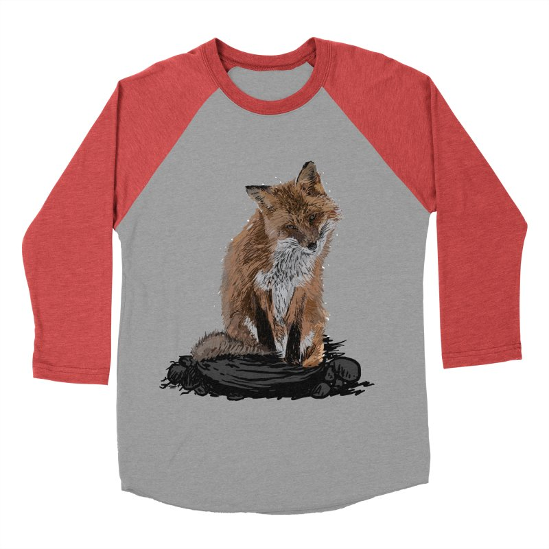 wolves Men's Baseball Triblend Longsleeve T-Shirt by gupikus's Artist Shop