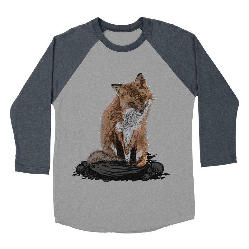 wolves Men's Baseball Triblend Longsleeve T-Shirt by gupikus's Artist Shop