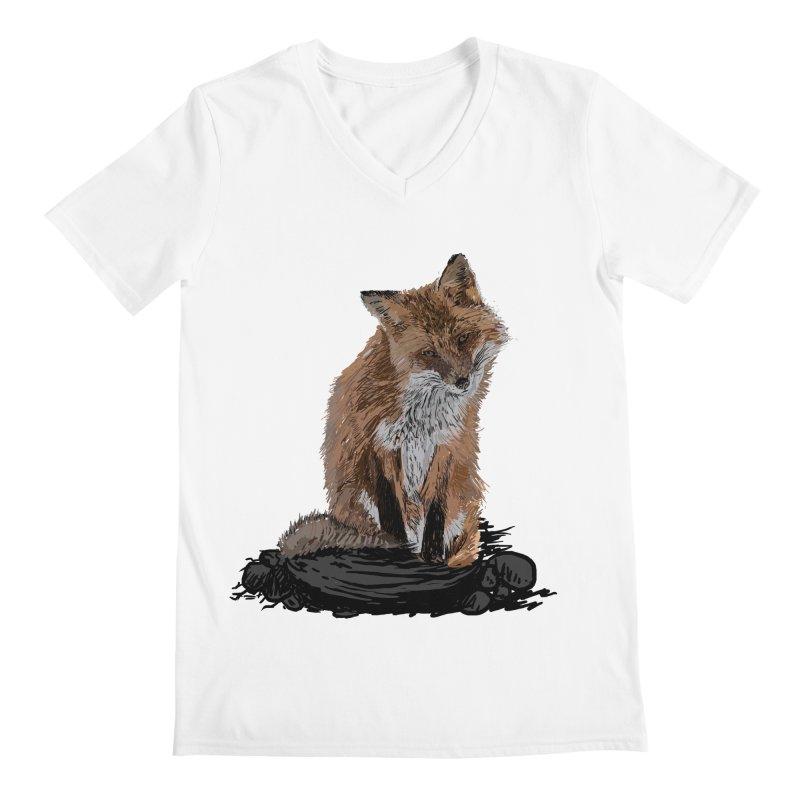 wolves Men's V-Neck by gupikus's Artist Shop