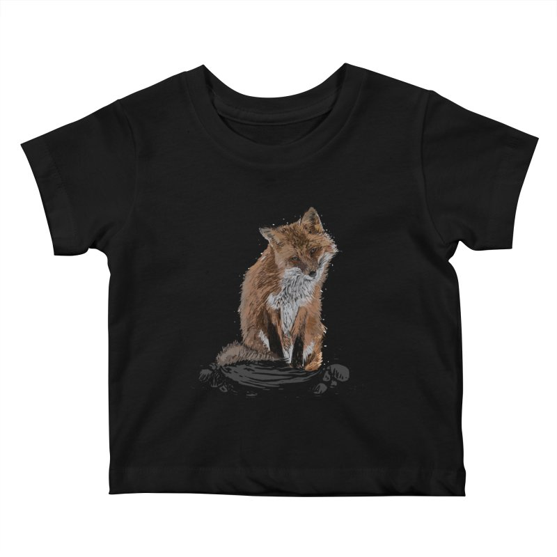 wolves Kids Baby T-Shirt by gupikus's Artist Shop