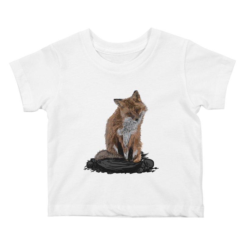 wolves Kids Baby T-Shirt by gupikus's Artist Shop