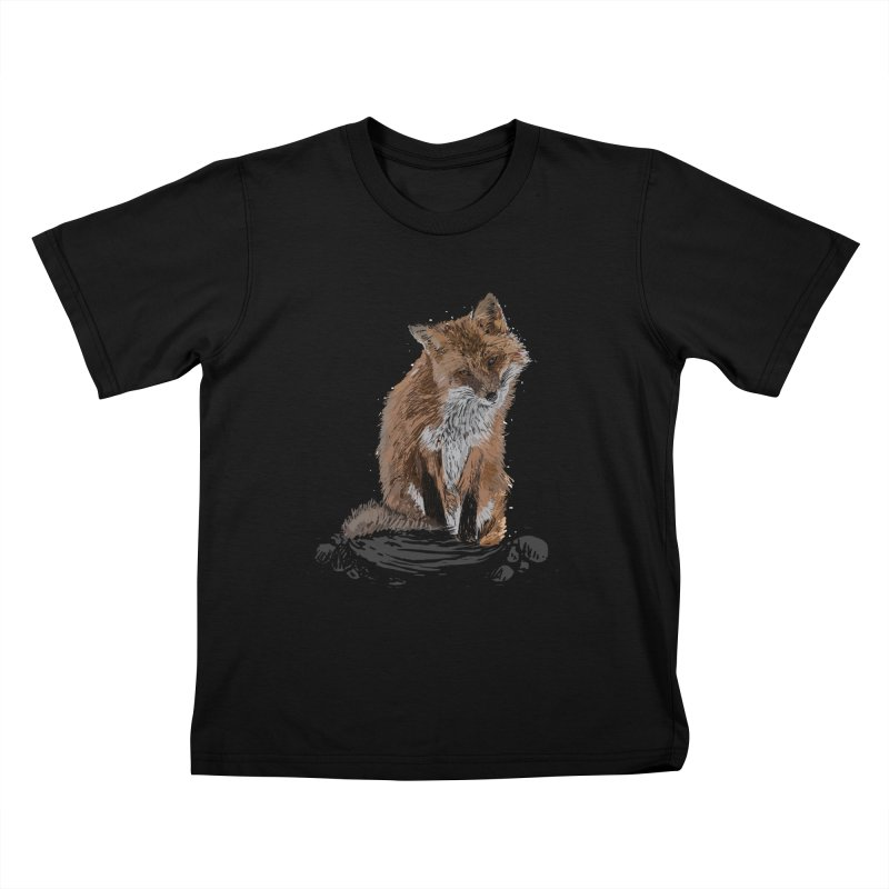 wolves Kids T-Shirt by gupikus's Artist Shop