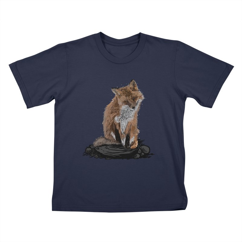 wolves Kids T-Shirt by gupikus's Artist Shop