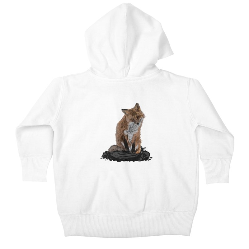 wolves Kids Baby Zip-Up Hoody by gupikus's Artist Shop