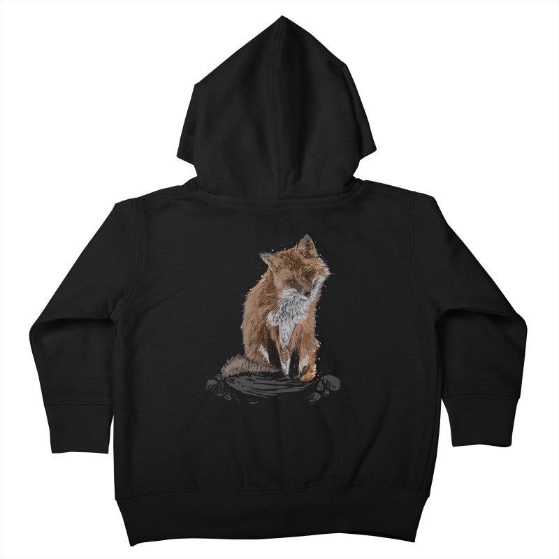 wolves Kids Toddler Zip-Up Hoody by gupikus's Artist Shop