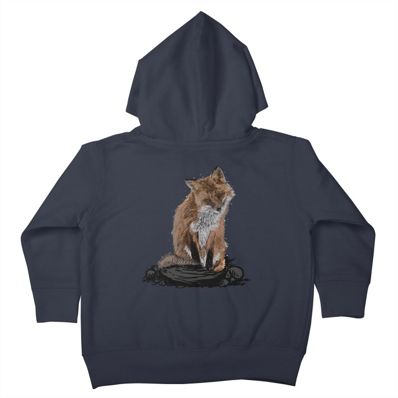 wolves Kids Toddler Zip-Up Hoody by gupikus's Artist Shop
