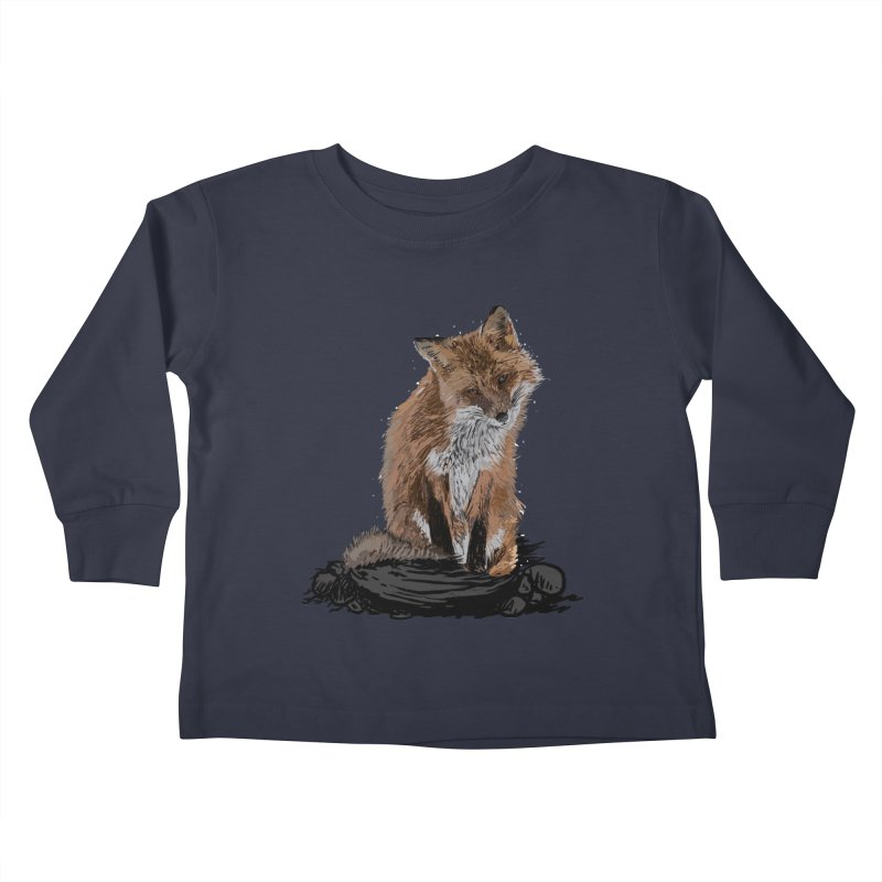 wolves Kids Toddler Longsleeve T-Shirt by gupikus's Artist Shop