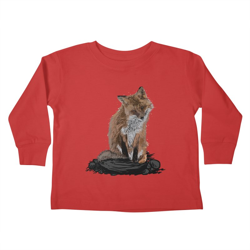 wolves Kids Toddler Longsleeve T-Shirt by gupikus's Artist Shop