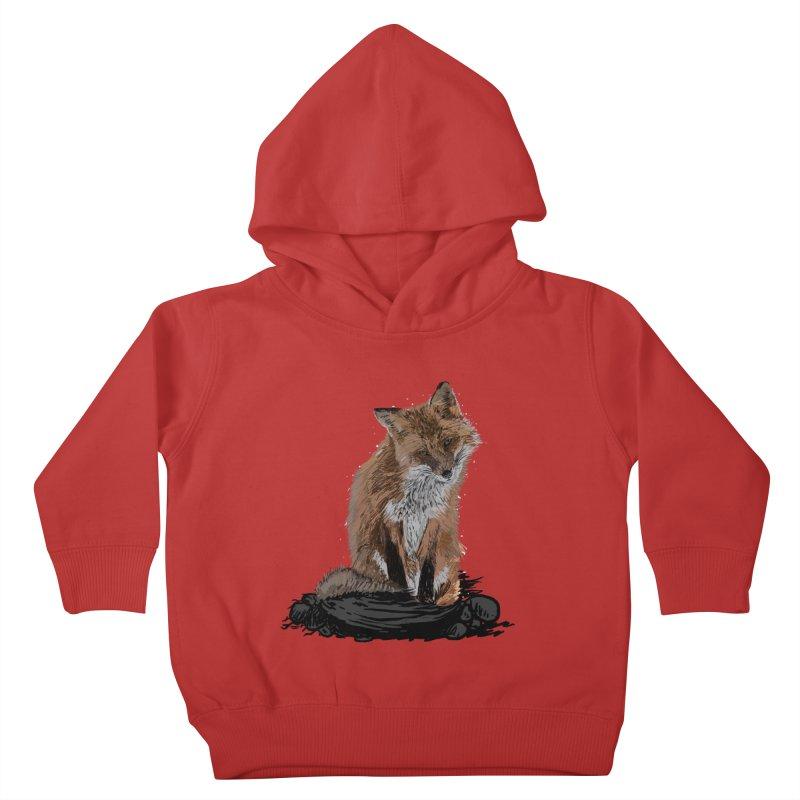 wolves Kids Toddler Pullover Hoody by gupikus's Artist Shop