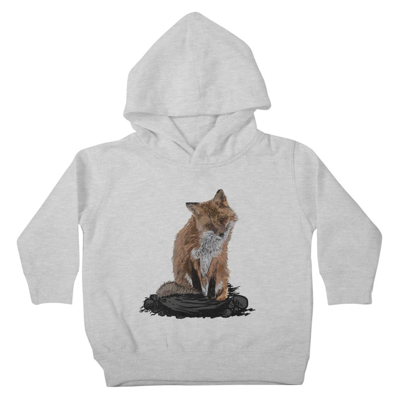 wolves Kids Toddler Pullover Hoody by gupikus's Artist Shop