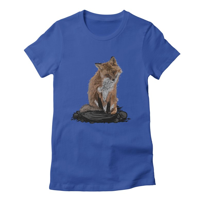 wolves Women's Fitted T-Shirt by gupikus's Artist Shop